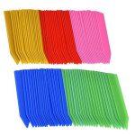 100 Pièces 100 mm Plastique étiquettes de Plantes / Marqueur de Jardin avec Marqueur Stylo, Multicolores de la marque eBoot image 3 produit