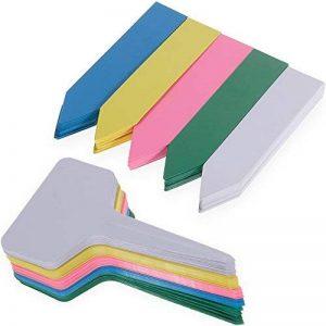 150PCS Etiquettes en Plastique Nabance Etiquettes Plante Etiquettes pour Graine Tag Jardin Etiquettes Kit(5 Couleurs) de la marque Nabance image 0 produit