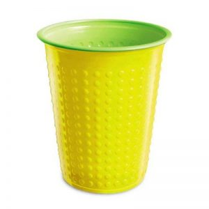 40 Pièce Gobelet Gobelets en plastique 200 ml divers Gobelet à deux couleurs Bicolore différentes couleurs W5 - jaune-vert, 200 ml, 200ml de la marque Unbekannt image 0 produit
