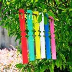 600 pcs étanche réutilisable en plastique Plante étiquettes, Jardin étiquettes Tags marqueurs, 6 couleurs de la marque KINGLAKE image 1 produit