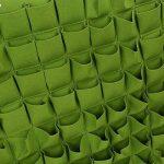 72 Pochettes Sacs À Planter Suspension De Jardin Jardinière Planteur Extérieur Intérieur Vert Poches de plantation Jardinage Sacs mur vertical( Couleur : Vert ) de la marque Yosoo image 4 produit