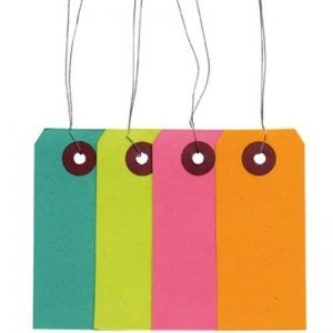 Artemio 40 étiquettes de couleur avec fil métallique de la marque Artemio image 0 produit