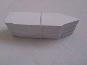 Aujardindesgraines® 100 Etiquettes à planter Blanche Réutilisable pour Semis Bouturage Serre de la marque Aujardindesgraines® image 0 produit