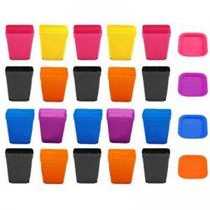 bac à fleur plastique couleur TOP 9 image 0 produit