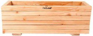 Bac moyen en bois de mélèze 84cm x 30cm x 30cm de la marque Fat Leaf Ltd image 0 produit