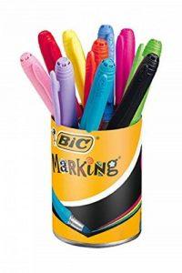 Bic - 896018 - Marqueurs Permanents Marking Color - Couleurs Assorties - 1,1 mm de la marque BIC image 0 produit