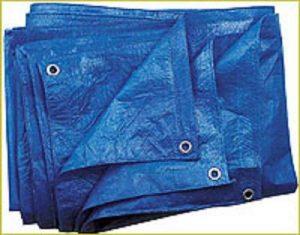 Bleu Bâche de 60g/m², 3x 5m Bâche de protection Bâche pour raccord universel de la marque GardenFlora image 0 produit