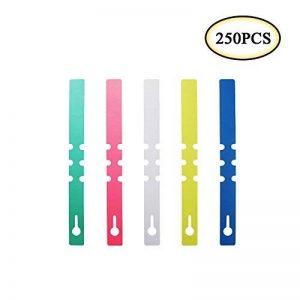 Boocy 250pcs 2*21cm Plastique Branche étanche étiquettes marqueurs Plante Chambre d'enfant Jardin Arbre à suspendre balises de la marque Boocy image 0 produit