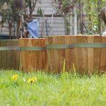 Cache-pot de grande qualité, pot de fleurs, jarre en bois robuste de conifère (HÊTRE) – disponible en nombreuses tailles (350 x350) de la marque evama image 2 produit