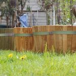 Cache-pot de grande qualité, pot de fleurs, jarre en bois robuste de conifère (Mélèze)– disponible en nombreuses tailles (300 x 300) de la marque evama image 2 produit