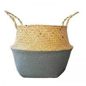 cache pot rotin TOP 9 image 0 produit