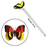 """Cefan Ensemble de 30 papillons décoratifs sur tige 9,9cm Pour jardin, pot de fleurs 3.9"""" de la marque Cefan image 4 produit"""