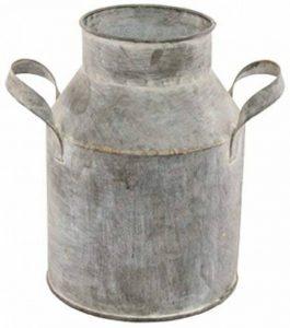 Chaks 80725, Petit Pot à lait en zinc avec poignées 14cm de la marque Chaks image 0 produit