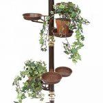 Colonne à fleurs 260cm Echelle à fleurs Art.7 Porte fleurs Colonne à plantes Porte-plantes de la marque DanDiBo image 4 produit