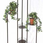 DanDiBo Echelle à fleurs Art.4A Porte fleurs Colonne à fleurs 102cm Colonne à plantes Porte-plantes de la marque DanDiBo image 1 produit