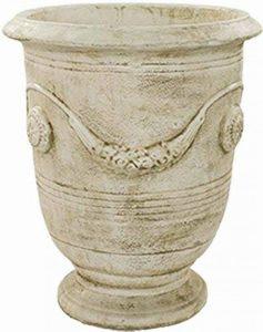 Deco Granit Pot Rond en Pierre Reconstituée Antique de la marque Deco Granit image 0 produit
