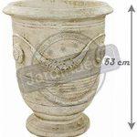 Deco Granit Pot Rond en Pierre Reconstituée Antique de la marque Deco Granit image 2 produit