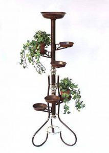 Echelle à fleurs Art.5 Porte fleurs Colonne à fleurs 126cm Colonne à plantes Porte-plantes de la marque DanDiBo image 0 produit