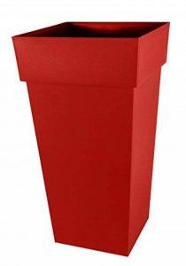 EDA Plastiques POT TOSCANE XXL CARRE 80 CM - 98L de la marque EDA Plastiques image 0 produit
