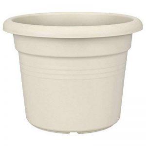 Elho Green Basics Cilinder Pot de Fleur, Blanc, 40 cm de la marque Elho image 0 produit