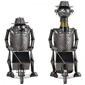 [en.casa] porte-bouteille jardinier porte-bouteille de vin cadeau porte-bouteille de vin vin support de la marque Encasa image 0 produit