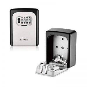 ENKLEN Boîte de serrure de clé, l'accès de sélection de corps de zinc solide à haute résistance - mur - pour partager et clef de sécurité de la marque ENKLEN image 0 produit