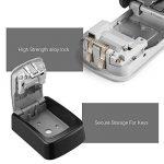 ENKLEN Boîte de serrure de clé, l'accès de sélection de corps de zinc solide à haute résistance - mur - pour partager et clef de sécurité de la marque ENKLEN image 3 produit
