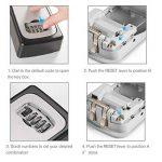 ENKLEN Boîte de serrure de clé, l'accès de sélection de corps de zinc solide à haute résistance - mur - pour partager et clef de sécurité de la marque ENKLEN image 4 produit