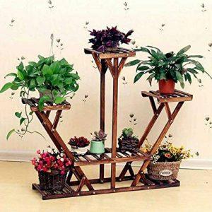 étagère à fleurs en bois TOP 11 image 0 produit