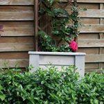 evama Pot, pot de fleurs, boîte Bois seau en chêne solide pour le jardin–Disponible en plusieurs tailles 65x65x65 de la marque evama image 2 produit
