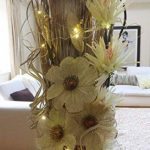 fleur en bois TOP 1 image 4 produit