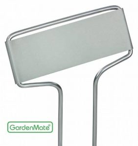 GardenMate® Banner Lot de 25 marque plantes en acier galvanisé métal zinc de la marque GardenMate® image 0 produit