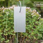 GardenMate® Hook Lot de 25 marque plantes en acier galvanisé métal zinc de la marque GardenMate® image 1 produit