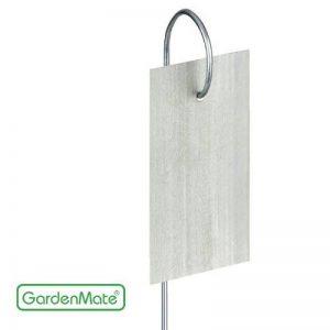 GardenMate® Hook Lot de 25 marque plantes en acier galvanisé métal zinc de la marque GardenMate® image 0 produit