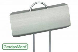 GardenMate® Poster Lot de 25 marque plantes en acier galvanisé métal zinc 30cm de la marque GardenMate® image 0 produit