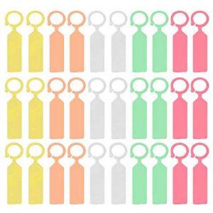 Gosear Etiquette Jardin, 100 Pièces en Plastique Étiquettes de Plante Imperméable à l'eau Accrocher Etiquettes d'usine de Panneaux Bougies Multi Couleur de la marque Gosear image 0 produit