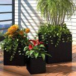 grand pot de fleur en zinc TOP 3 image 1 produit