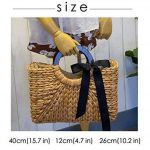 HopeEye Femmes Tendances de la mode Paille Sacs à main Femme de la marque HopeEye image 1 produit
