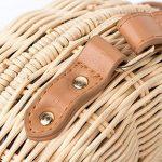 HopeEye Femmes Tendances de la mode Paille Sacs à main Femme de la marque HopeEye image 3 produit