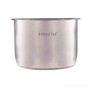 Instant Pot 8 litre, intérieur en acier inoxydable Pot pour autocuiseur électrique acier inoxydable de la marque Instant Pot image 0 produit