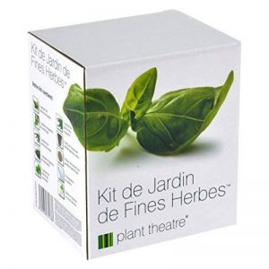 Kit de Jardin de Fines Herbes par Plant Theatre - 6 herbes aromatiques différentes à cultiver soi-même – Idée cadeau jardiniers de la marque Plant Theatre image 0 produit