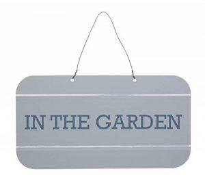 Kitchen Craft LNGSIGN Living Nostalgia Signe pelouse Gris/bleu 28 x 28 x 18 cm de la marque Kitchen Craft image 0 produit