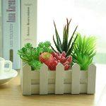 KUUQA 10pcs Unpotted Fleurs Artificielles plantes à suspendre tiges plantes pour la décoration de la maison d'intérieur Jardin DIY consommables de la marque KUUQA image 4 produit