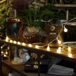 LED Ball String Lights, Bukm 50 Petite Boules Ampoule Blanc chaud Décoration romantique pour Party, 5m LED Lumière Batteries Alimenté pour Noël,Mariage,Chambre Jardin Terrasse Pelouse Décor de la marque Bukm image 3 produit