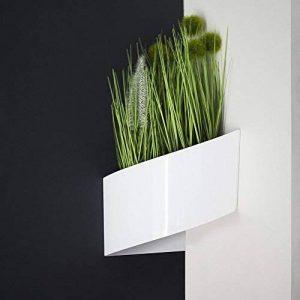 Modul'Green - Pot pour plantes mural Design - Intérieur / Extérieur - Blanc de la marque Green Turn image 0 produit