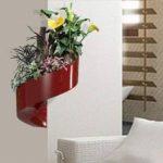 Modul'Green - Pot pour plantes mural Design - Intérieur / Extérieur - Rouge de la marque Green Turn image 4 produit