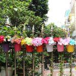 Ogima® (10 PC) Métal Fer Pots de Fleurs Suspendu Balcon Jardin Home Decor de la marque OGIMA image 2 produit