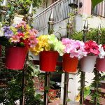 Ogima® (10 PC) Métal Fer Pots de Fleurs Suspendu Balcon Jardin Home Decor de la marque OGIMA image 4 produit