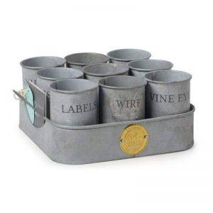 petit pot zinc TOP 2 image 0 produit