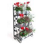 Plant Theatre Présentoir en métal pour plantes et fleurs, design classique-Noir de la marque Plant Theatre image 1 produit